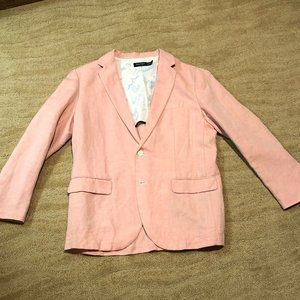 Nautica Orange Salmon Blazer